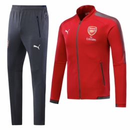 hot sale online 95114 8c55b 17-18 Arsenal Red Training Kit(Jacket+Trousers)