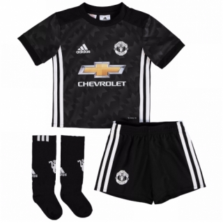 aa937b1a 17-18 Manchester United Away Black Children's Jersey Whole Kit(Shirt+Short+Socks)  | Manchester United Jersey Shirt sale | SoccerGears