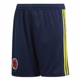 2018 Colombia Home Soccer Jersey Shorts