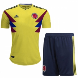 2018 Colombia Home Jersey Kit (Shirt+Shorts)