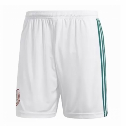 2018 Mexico Home White Jersey Shorts
