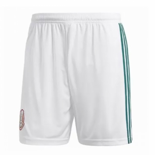 2018 Mexico Home White Jersey Short