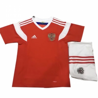 newest 1ac4c 0a4b7 2018 World Cup Russia Home Red Children's Jersey Kit(Shirt+Short)