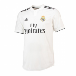 6e3bf0188 18-19 Real Madrid Home White Soccer Jersey Shirt(Player Version ...
