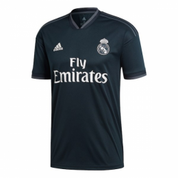 18-19 Real Madrid Away Dark Navy Soccer Jersey Shirt